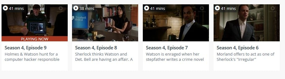 Watch Elementary on Tenplay abroad